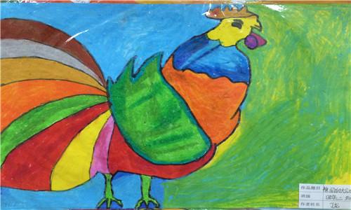 幼儿园大二班画画