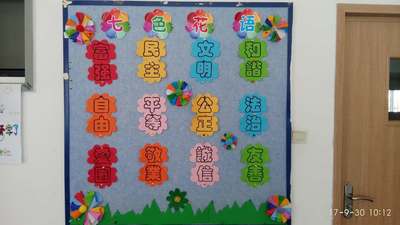 色彩搭配醒目,装饰花边恰当巧妙)   以下是各班级值得借鉴的黑板报图片